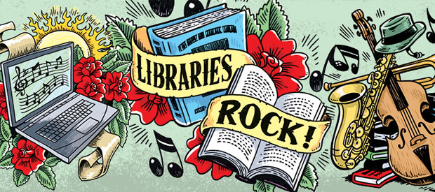 Libraries Rock this Summer