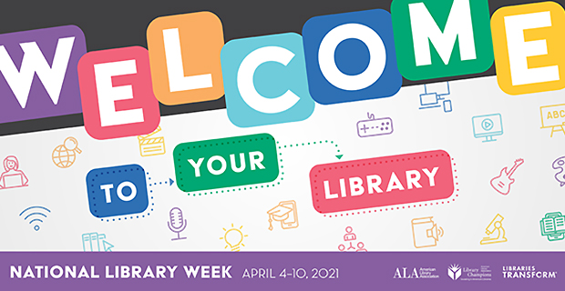 National Library Week is April 4-10 – Bookmark Contest