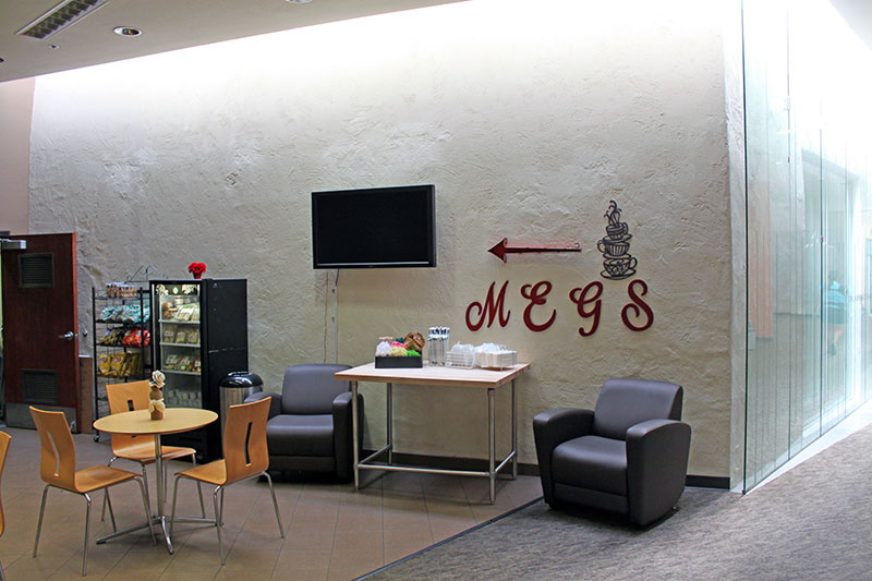 Meg's Civic Center Library Café