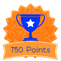 750 points